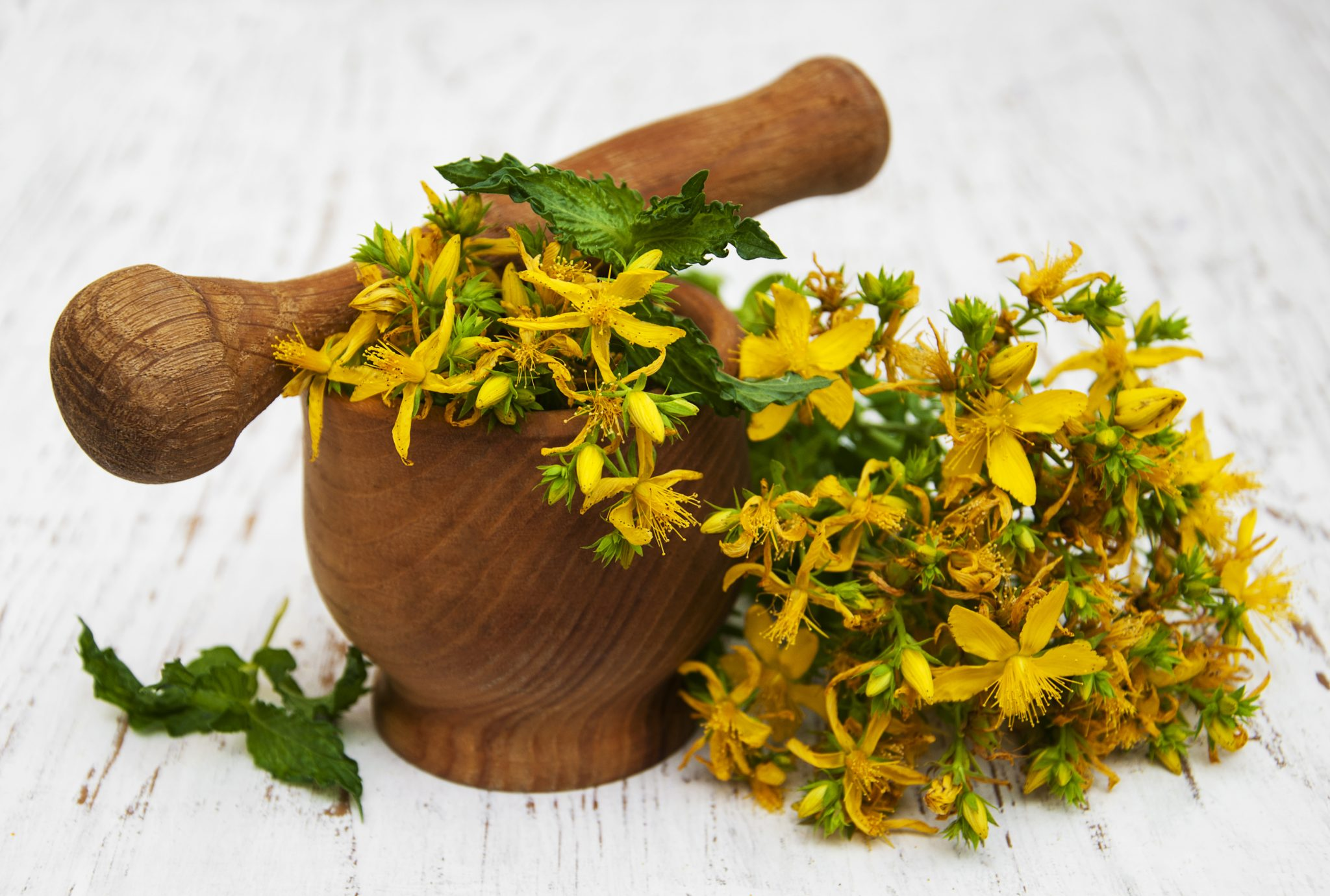 12 Natural Herbs to Treat Depression