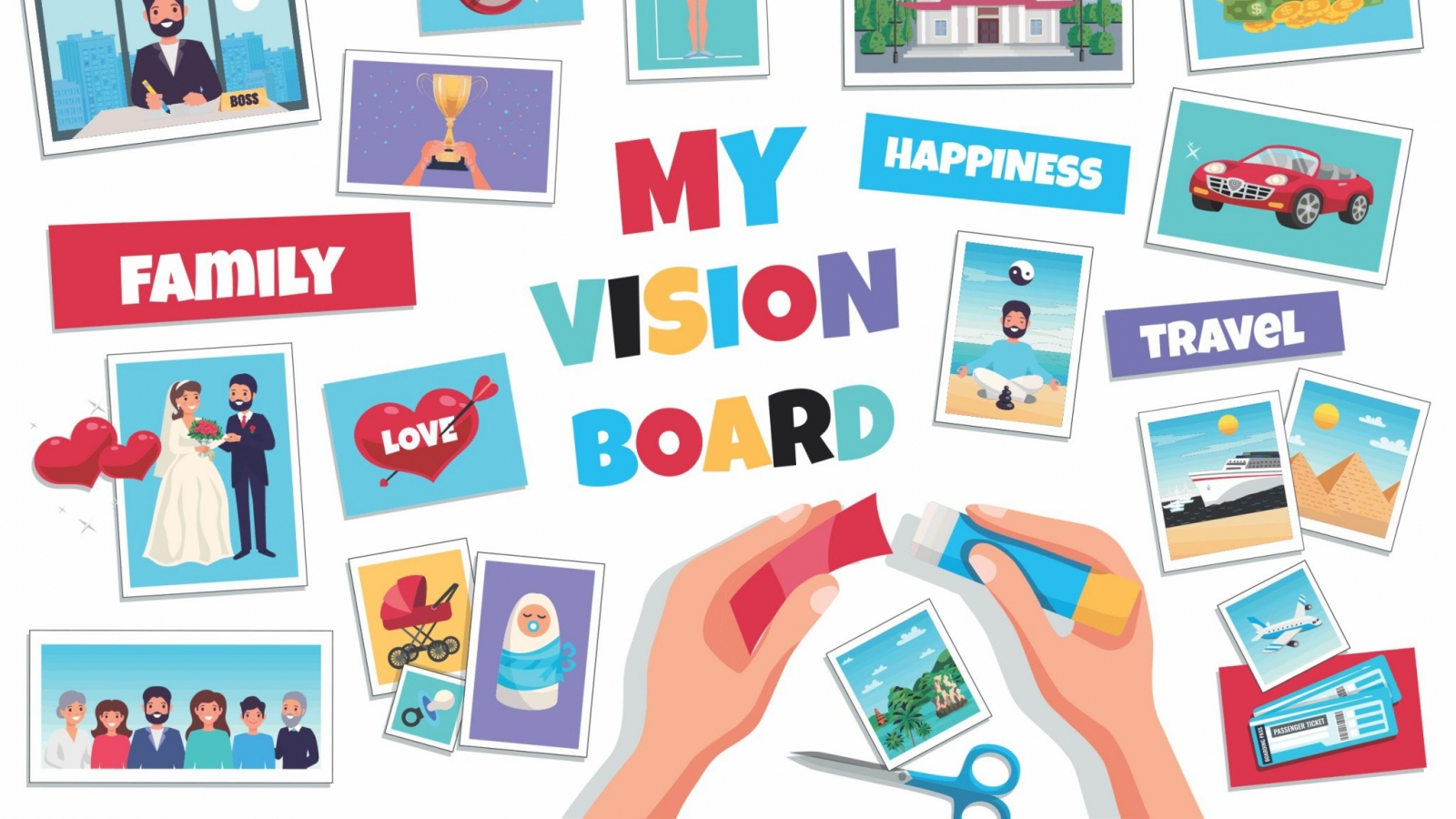 How to Create a Family Vision Board , Glover Health
