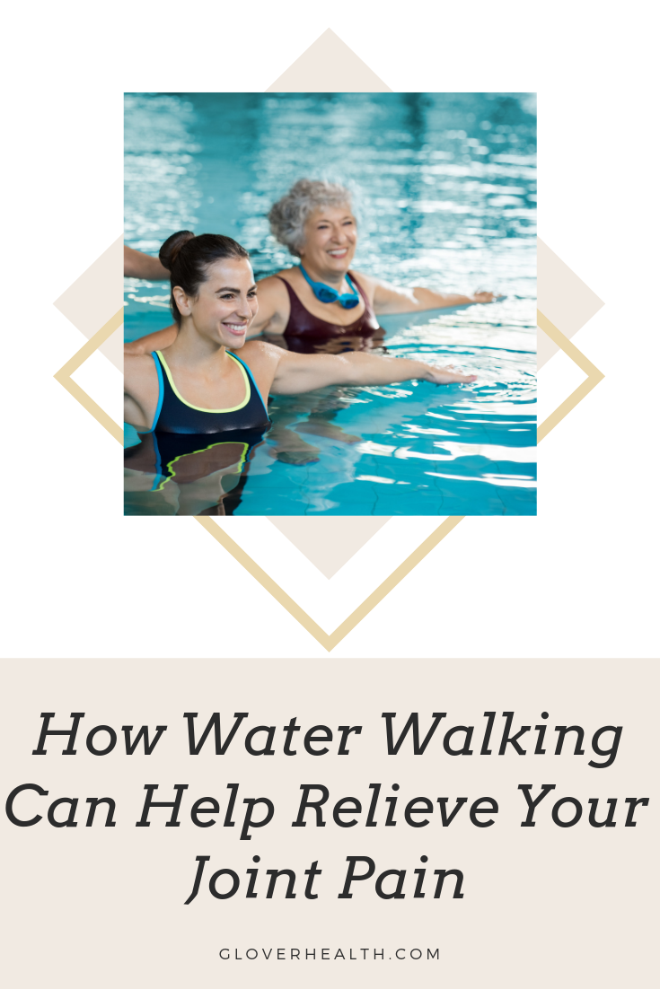 How Water Walking Can Help Your Joint Pain